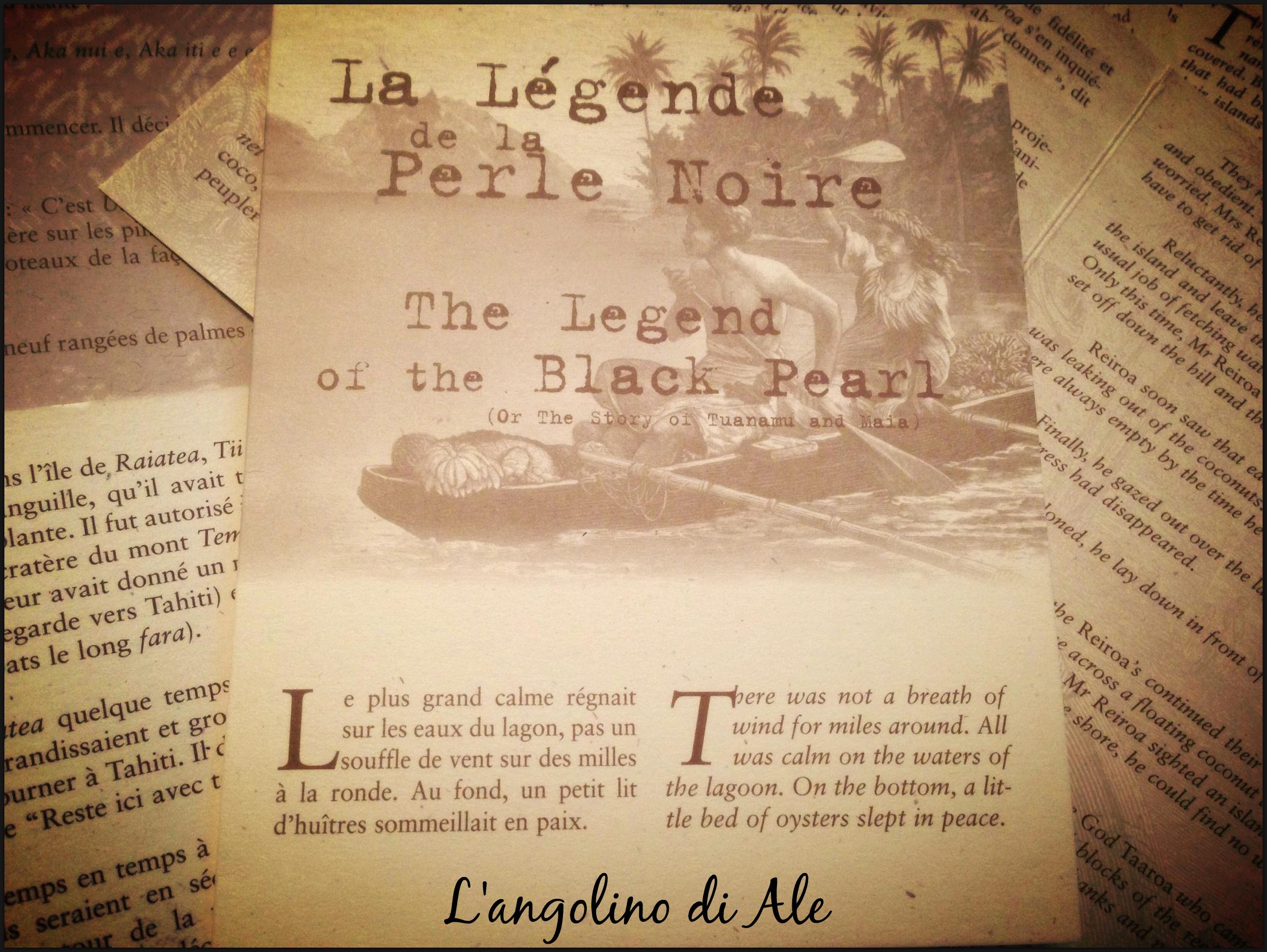 Un anno. Un viaggio. Una leggenda. La Polinesia Francese La leggenda della perla nera