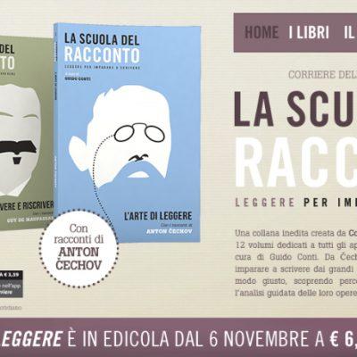 La scuola del racconto – Corriere della Sera – novembre 2014
