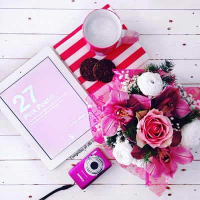 27 Pink Post-it di Erica Stori.