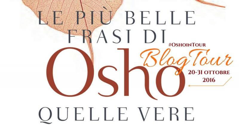 Le più belle frasi di Osho - cover Blogtour - Osho 2016
