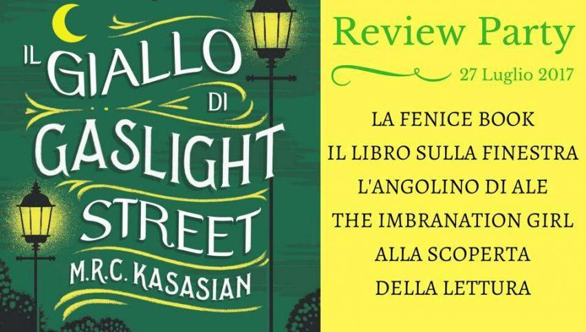Il giallo di Gaslight Street di M.R.C. Kasasian