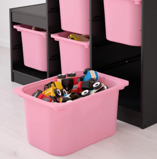 Contenitori per camera dei bambini / Composizione Ikea
