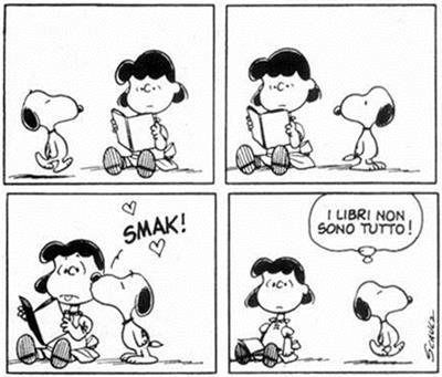 I libri non sono tutto - Snoopy