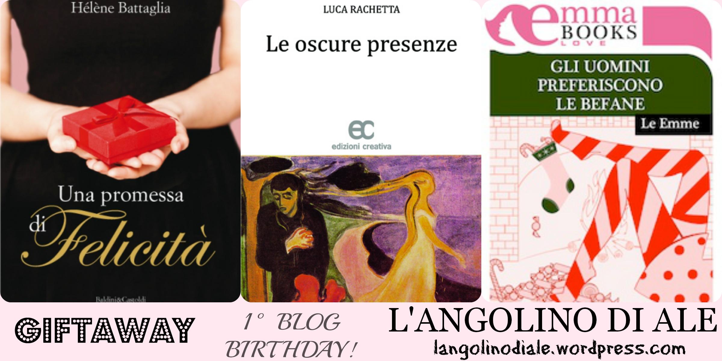 The winner is…!! I Giftaway dell'angolino