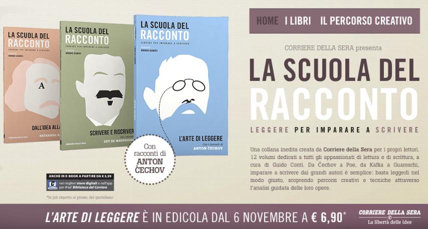 La scuola del racconto - Corriere della Sera - novembre 2014