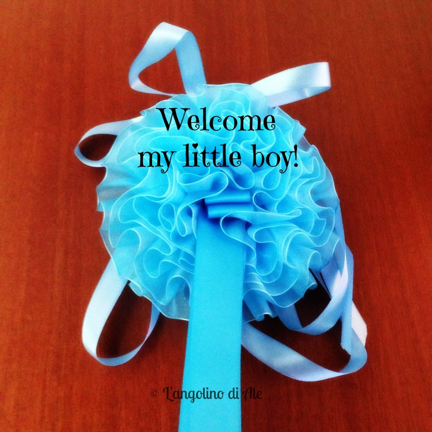 Welcome my little boy