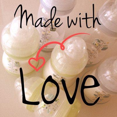 Biberon Made with Love