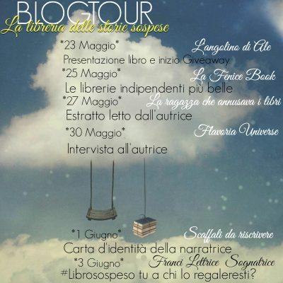 La libreria delle storie sospese di Cristina Di Canio – Calendario