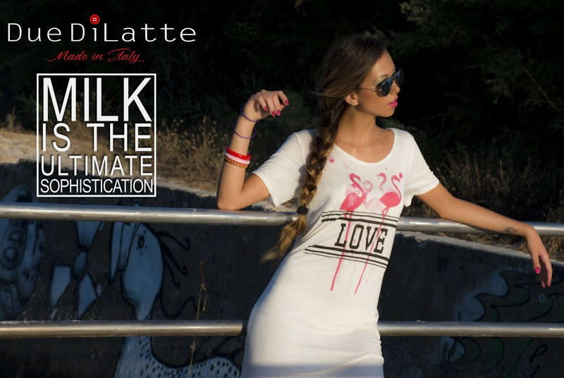 DuediLatte: Le t-shirt al latte la Capsule Collection di Hélène Battaglia