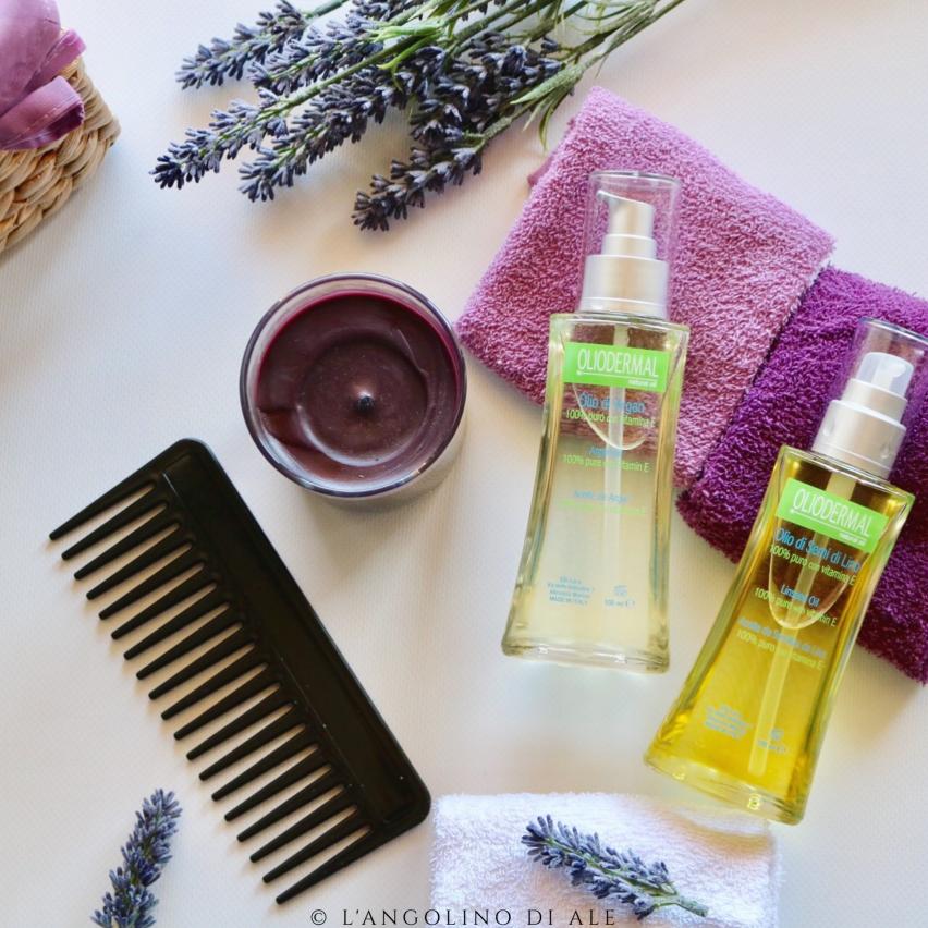 Argan e semi di lino un rimedio contro i capelli crespi