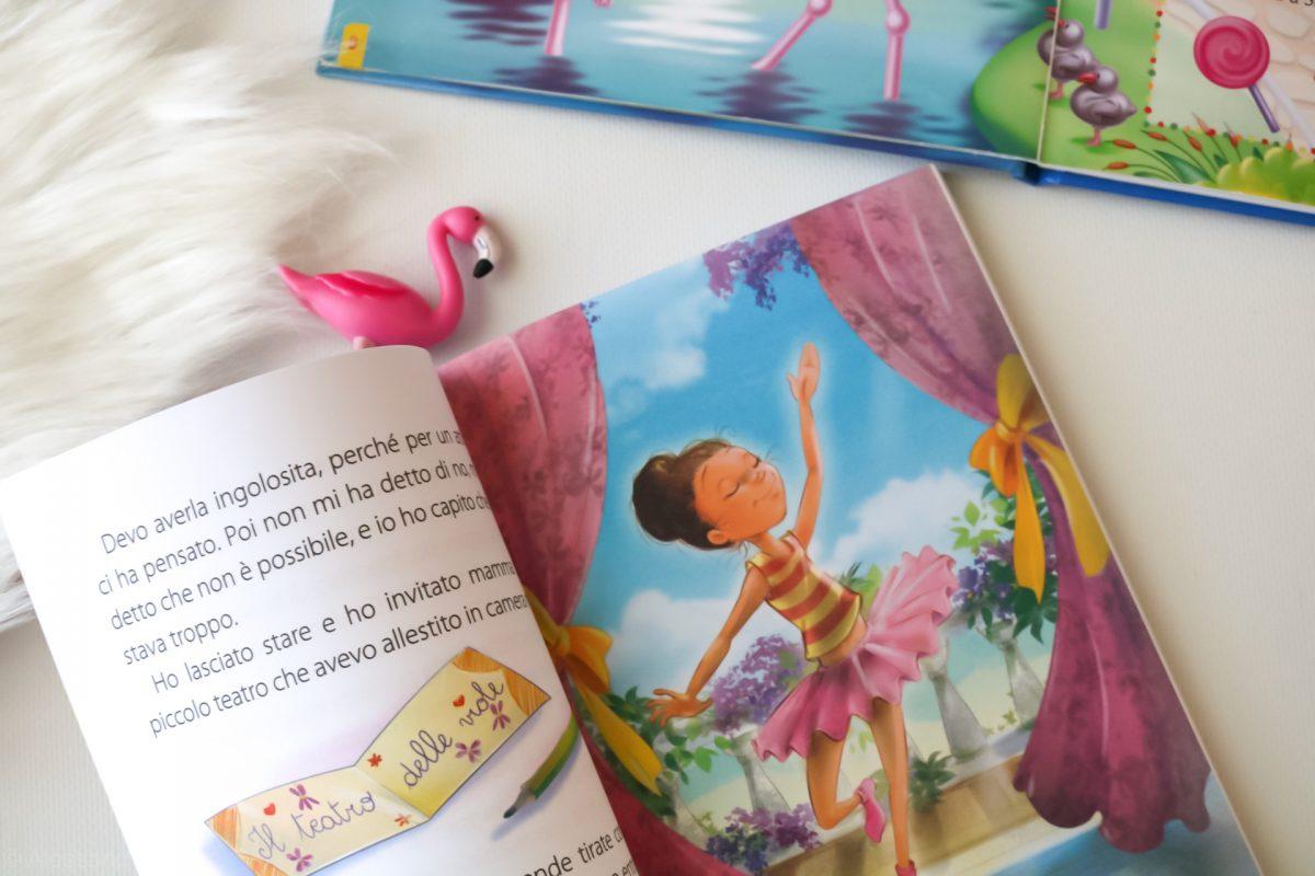 Un fenicottero rosa e la passione per la danza